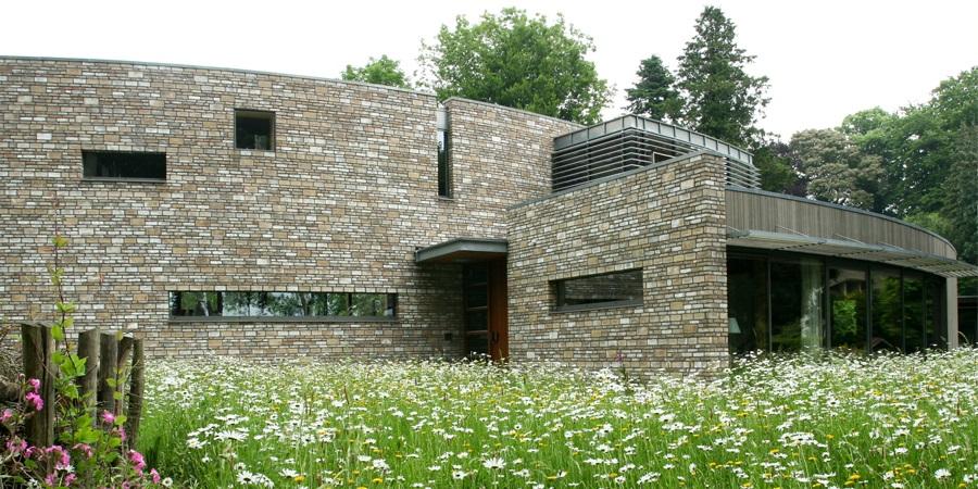 Villa Shan, Bakenbersweg-strolaan te Schaarsbergen